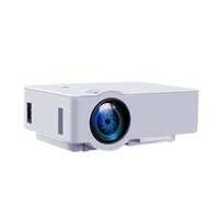 audio video technologies - E08s Multimedia Cinema LED HD Technology Projector LCD Support Phone AV USB HDMI TF AUDIO Home Theater Video In stock