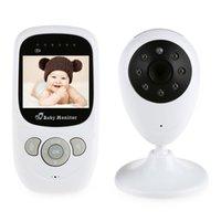 2.4GHz Wireless Infant Radio Babysitter Caméra Vidéo Numérique Baby Monitor Audio Nuit Vision Température Affichage Radio Nanny