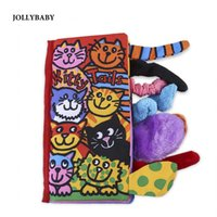Wholesale Baby book Newborn cushion Cute Cartoon Animal Tails cloth Early teaching Education Learning Books Baby toys in Bed Backrest
