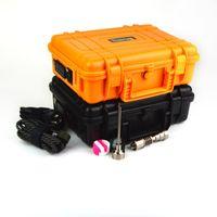 Con 2 colores impermeabilizan la caja de plástico de la bobina de la caja 10m m 16m m 20m m caja eléctrica del calentador del clavo con el casquillo Titanium del carbón del clavo DHL libre WKQ-02