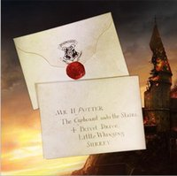 Wholesale Harry potter hogwarts platform express train ticket admission notification card Christmas gifts collectibles