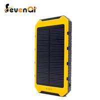 backup battery pack ipad - Solar Charger Portable Solar Power Bank mAh Dual USB Battery Charger External Backup Power Pack for Cellphone iPad Camera