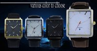 auto glass business for sale - new fashion leather waterproof business quartz watch for man sale for Merry Christmas birthday or Merry Christmas gift