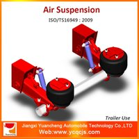 air iso - ISO TS16949 Toyota Semi trailer Firestone Airbag Suspension Trailer Air Suspension