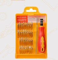 Wholesale Thirty Two Combined Multifunctional Screwdriver Mobile Phone Notebook Electrical Maintenance Tools Suitable For Small Precision Screws Tear