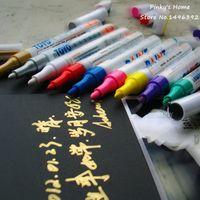 Wholesale Korea Stationery DIY Album Scrapbooking Essential Accessories Cute Pen Colorful Creative Color Gel pen