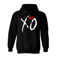 Wholesale New Fashion Ovoxo Owl XO The Weeknd Drake Loose Hooded Hoodies Rap Hip Hop Print Loose Pullover Sweatshirts