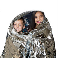 Wholesale Hotsale out door waterproof emergency first aid blanket Multi function Camping Waterproof Emergency Survival Insulation Foil Rescue Blanket