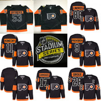 Men army men series - 2017 Stadium Series Premier Jersey men Philadelphia Flyers Shayne Gostisbehere Wayne Simmonds Ivan Provorov Claude Giroux Hockey