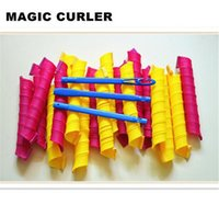 Wholesale AAA quality Amazing Magic Leverag Hair Curlers Curlformers Hair Roller Hair Styling cm long hooks Tools