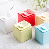 baby shower favor box - Butterfly Style Favor Gift Candy Cake Boxes For Wedding Party Baby Shower Non personalised