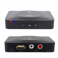 No audio receiver hdmi - NFC Desktop Bluetooth Audio Receiver Wireless Music Stereo Adapter for Home Car Sound System HiFi Speaker fit Tablets Phones PC