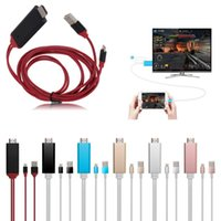 air play iphone - 8 Pin P Plug and Play to HDMI TV HDTV AV Adapter Cable for iPhone iPad Mini Air USB to HDMI MHL