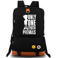 best conan - Conan backpack Famous best detective daypack Prevails schoolbag Cartoon rucksack Sport school bag Outdoor day pack