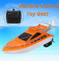 best boat battery - x7 x9cm Orange Plastic Electric Remote Control Kid Chirdren Toy Speed Boat Your Best Choice