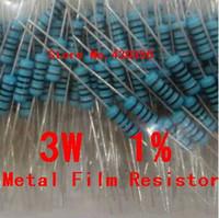 Venta al por mayor - envío libre de la resistencia de la película de metal 10PCS 3W Resistor + -1% 3W 18K
