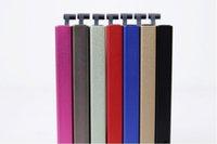 Wholesale 200pcs Fashion Unisex Candy Square Slim aluminum RFID Credit Card holder Wallet Case put Card Holders Protector cm