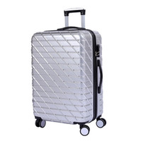 Wholesale Universal wheel pull rod box new PC material luggage inch inch suitcase compression resistant boarding chassis