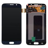 Wholesale For Samsung Galaxy S6 LCD Screen Replacement inch Original Touch Screen Digitizer Display Assembly G9200 G920k Repair Parts