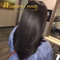 Wholesale 4 A Cheap Factory Peruvian Hair Extensions Malaysian Indian Brazilian Hair Weft Jinpai Hair