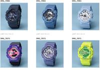 Sport automatic led light - All Function Work Men Denim Watches G110 LED chronograph wristwatch Auto light G Relojes Hombre Horloge Orologio Montre automatic Watch