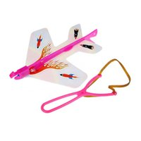 arrow paper airplane - LED Light Plane Paper Airplane Model Toy Flashing Copter Arrow Kids Night Outdoor Toys