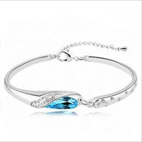best friends slippers - New the Blue Glass slipper Bracelet for girl friend best gift and fashion people