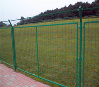 Wholesale Mid high Security Fence Galvanized Welded Wire Fence Panels High Quality Diamond Fence Panels for Garden and Road Security