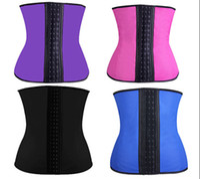 Wholesale Sexy Latex Corsets Hot Shapers Waist Training Corset Waist Cincher Bodysuit Women