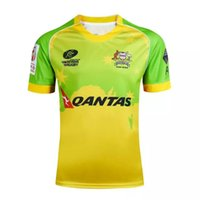 australia jersey rugby - NRL National Rugby League Australia Australlan Sevens Rugby yellow Rugby jersey