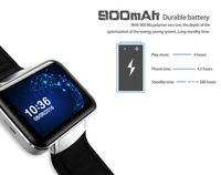2017 Android 5.1 Smart Watch Téléphone MTK6572 Quad Core DM98 Bluetooth Smartwatch 3G SIM Wifi GPS montres de sport WCDMA Smartphone