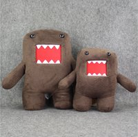 baby toys used - 30cm cm Cute Domo Plush Toy Children Plush Stuffed Toys Doll High Quality Safty for Baby Use EMS