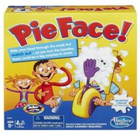 Wholesale New Korea Running Man Pie Face Game Cream On Her Face Hit The Send Machine Paternity Toy Rocket Catapult Consoles Novelty Funny Toys