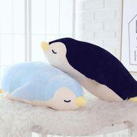 achat en gros de cadeaux d'anniversaire pingouin-1 pcs 35cm Peluche mignonne pingouin et jouets en peluche Poupée souple pour les enfants le meilleur Cadeaux de Noël cadeau d'anniversaire christma