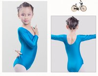 Wholesale Girls ballet stage wear children dance clothes for performance spandex high quality kids ballet dance clothing set ballet girl