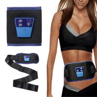 Wholesale Fashion AB Gymnic Health Care Slimming Body Massage Belt Electronic Muscle Arm Leg Waist Toning Belt for beauty