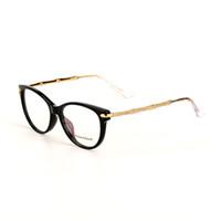 Wholesale Diamond Glasses Frame With Logo And Box Fashion Women Optcial Glasses Italy Brand Prescription Lens Vintage Style Eyeglasses