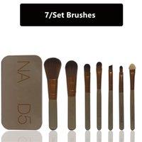 benefit hair - 7pcs Set Naked Eye Makeup Brushes Set benefit cosmetics tool kit blending Blush Brush