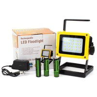Wholesale 5PCS Portable W COB LED Work Light Super Bright Yellow Rechargeable Outdoor Camping Flood Emergency Light Lamp