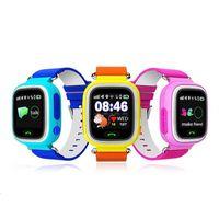 DHL GPS enfant Smart Watch Q90 écran tactile WIFI Positionnement des enfants SOS Call Localisation Finder Tracker Safe Anti Lost Monitor