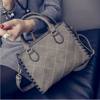 Wholesale Spring and summer and tide shoulder across a large bag of fashion women s bags color Satchel