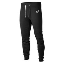 Wholesale Gymshark Men Casual Pants Gym Shark Slim Fit Mens Jogging Running Trousers Professional Bodybuilding Sweatpants