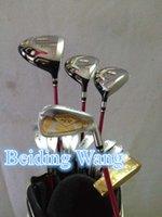 Wholesale 2016 Women s HONMA Beres S Golf Complete Set Driver Fairway Wood Irons Bag With ARMRQ8 Graphite L Flex Shaft Golf Beres Set Clubs