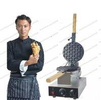 achat en gros de gaufre pan maker-Livraison gratuite! FY-6 Gaufrier électrique Pan Muffin Machine Eggette wafer gaufrette Egg Makers Machine de cuisine Applicance 110v / 220v GLO369