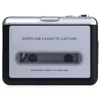 audio tapes music - Original EC007 Portable Music Cassette To MP3 Converter with Headphones Easily Transfer Any Cassette Tape To Audio CD or MP3