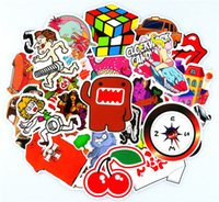 Wholesale 300 Car Sticker Mixed DIY Motorcycle Car Styling Skateboard Laptop Stickers Luggage Fridge Phone Car Covers Decals