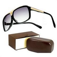 Wholesale 2017 High Quality Brand Sun glasses mens Fashion Evidence Sunglasses Designer Glasses Eyewear For mens Womens Sun glasses new