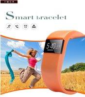 TW64 Fitness Tracker Bluetooth Bande Smart Bracelet Sport SmartBand Wristband Podomètre Pour iPhone IOS Android PK Mi bande