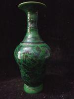 al por mayor porcelana qianlong-Antiguo Colección Colección Arte Raro China Porcelana Mano-Pintura De Peces Florero W Qianlong Marca C016