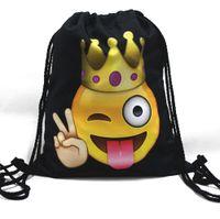 al por mayor bolsas azteca-Mochila Femenina Mochila Feminina Harajuku Bolso de Cordón Mochilas para Hombre Aztec Top Quality
